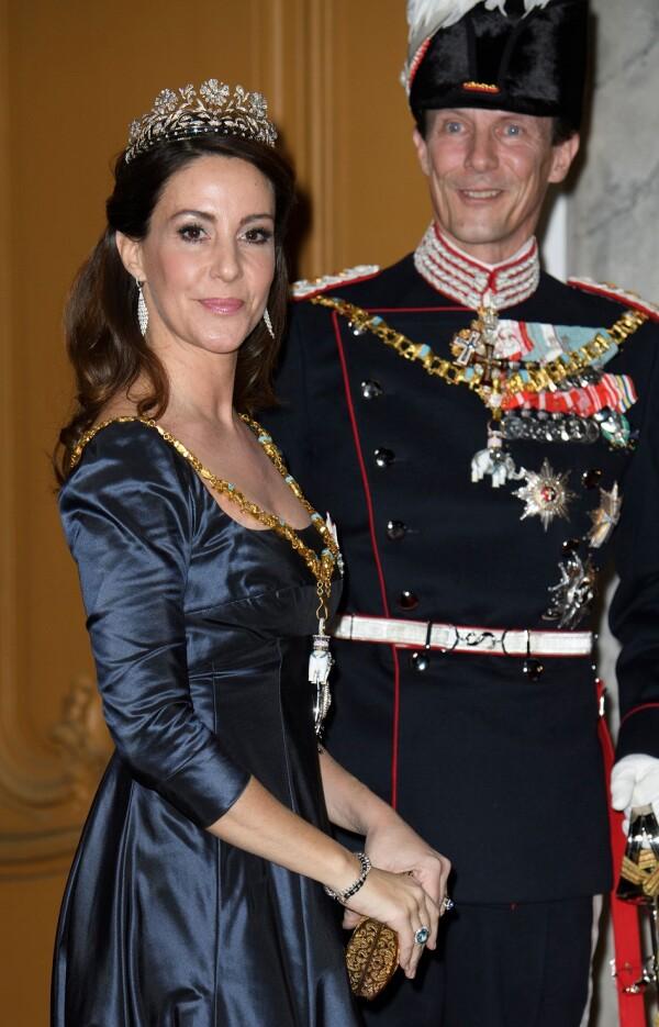 Princesa Marie y el príncipe Joaquín