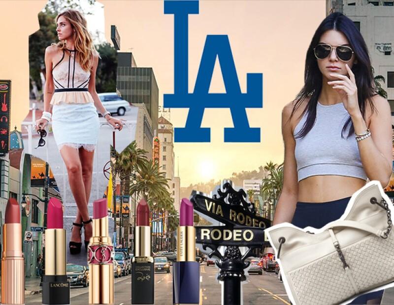 Chiara, Kendall, y Gigi son algunas de las celebridades que tienen LA como un destino no solo para vivir, sino para hacer sus compras más importantes del año.
