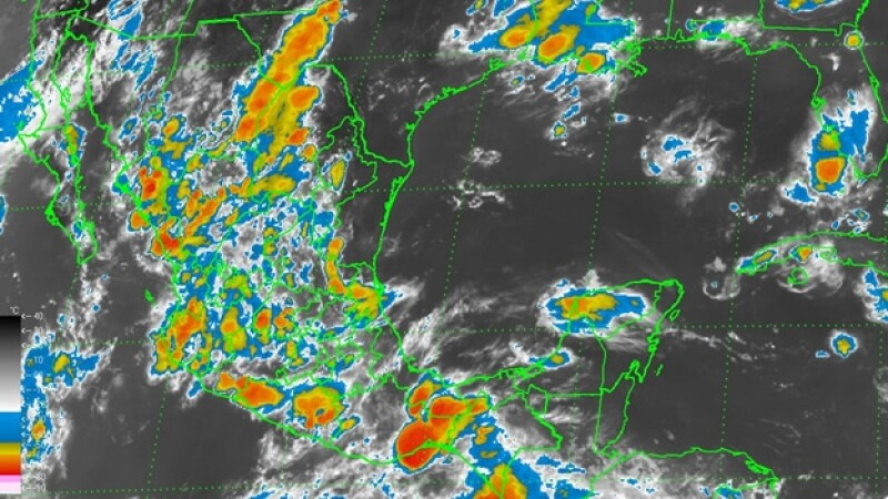 l Servicio Meteorológico Nacional reportó que en las próximas 24 horas continuarán las lluvias en todo el país