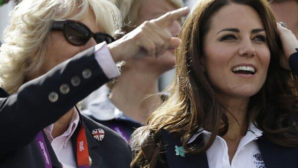 Camila Parker y Kate Middleton atentas a las pruebas ecuestres.