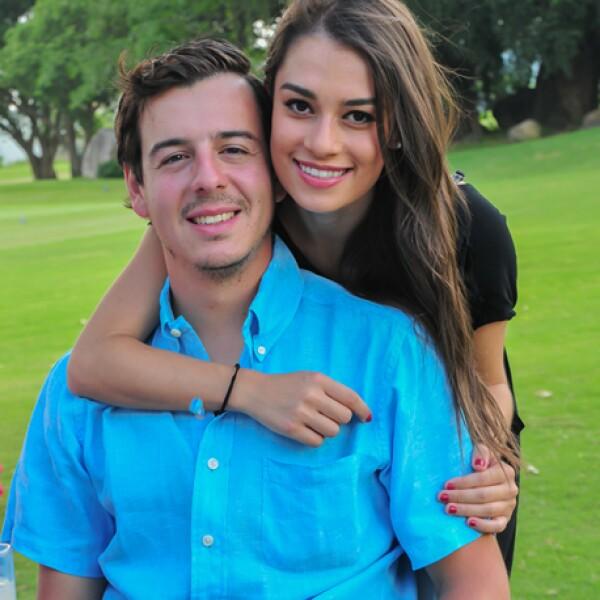 Pablo Mora y Andrea Ortiz