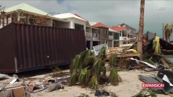 El saldo del paso del potente huracán Irma por el Caribe