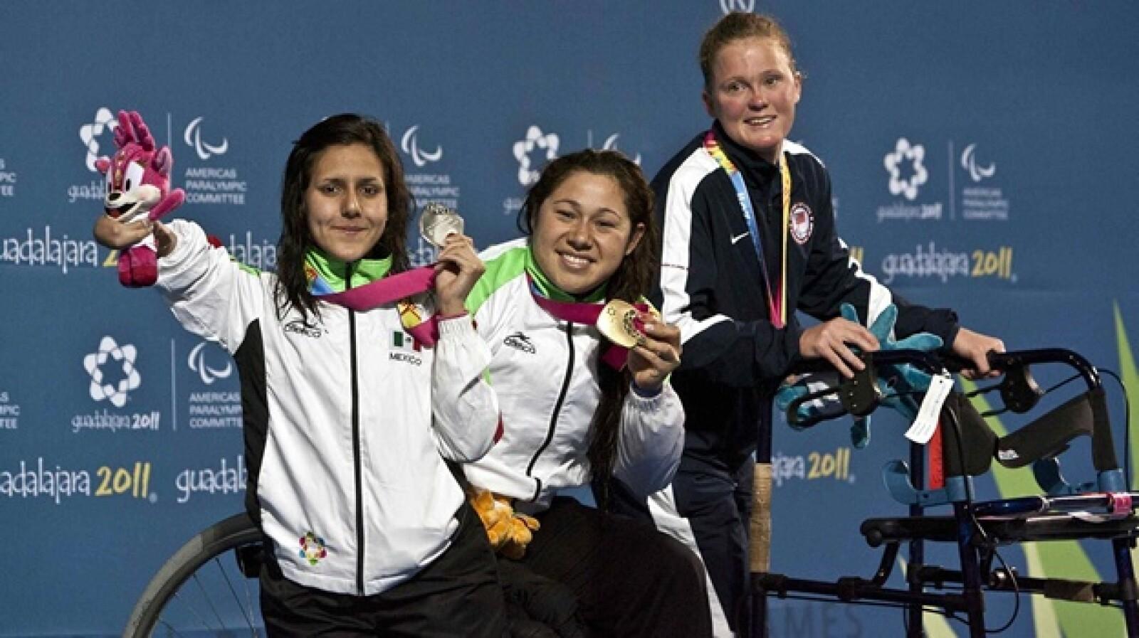Doramitzi Gonzalez de Mexico medalla de oro