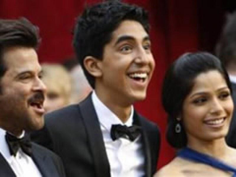 La película filmada en Bollywood se llevó la noche en Los Ángeles. (Foto: Reuters)