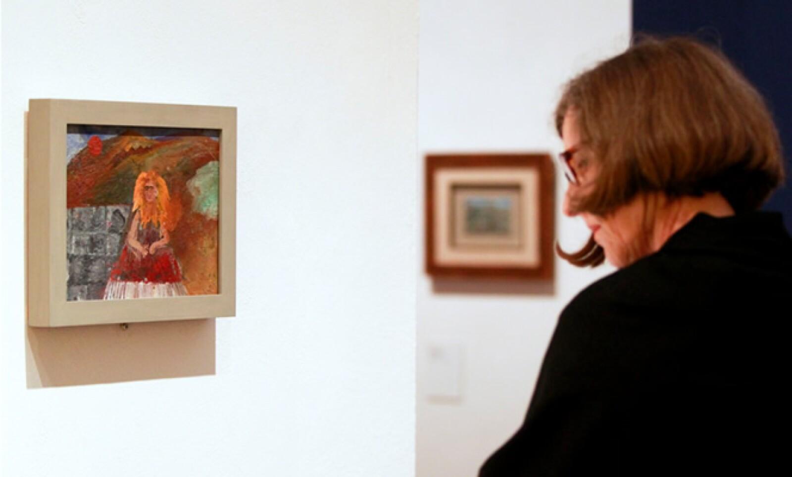 Una nueva retrospectiva de la obra de Frida Kahlo se inauguró en el museo Martin-Gropius-Bau en Berlín.
