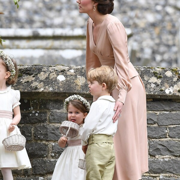 Kate Middleton, Príncipe George y Princesa Charlotte
