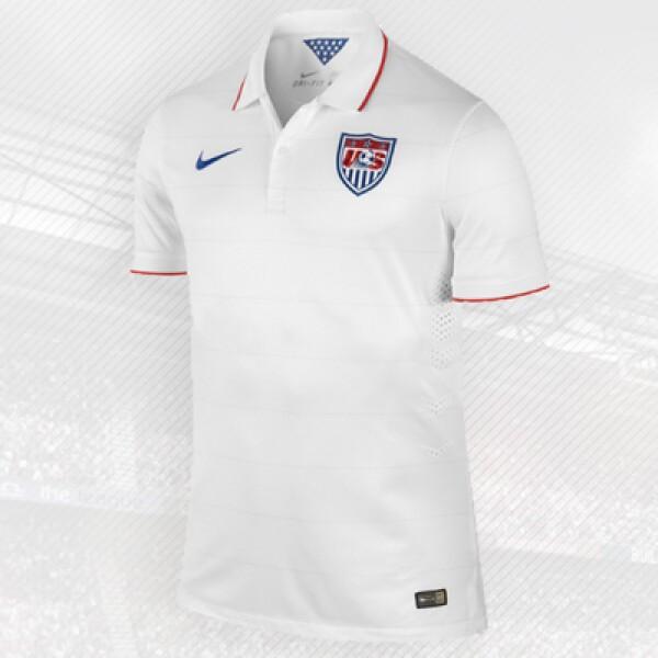 Al igual que Alemania y Ecuador, el equipo norteamericano viste con la firma local Nike.