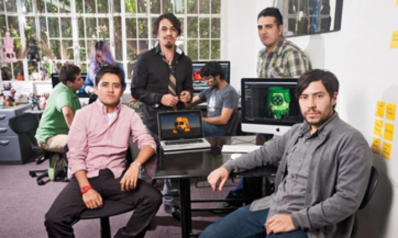 Los fundadores de Alucina Studio lanzarán su propio sitio de juegos de video en línea en marzo de 2013. (Foto: Adán Gutiérrez)