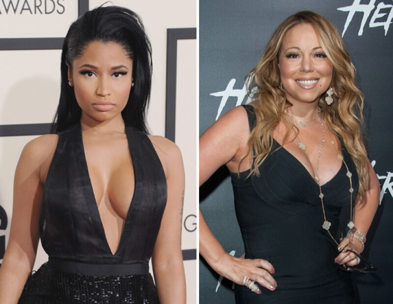 Nicki Minaj y Mariah Carey