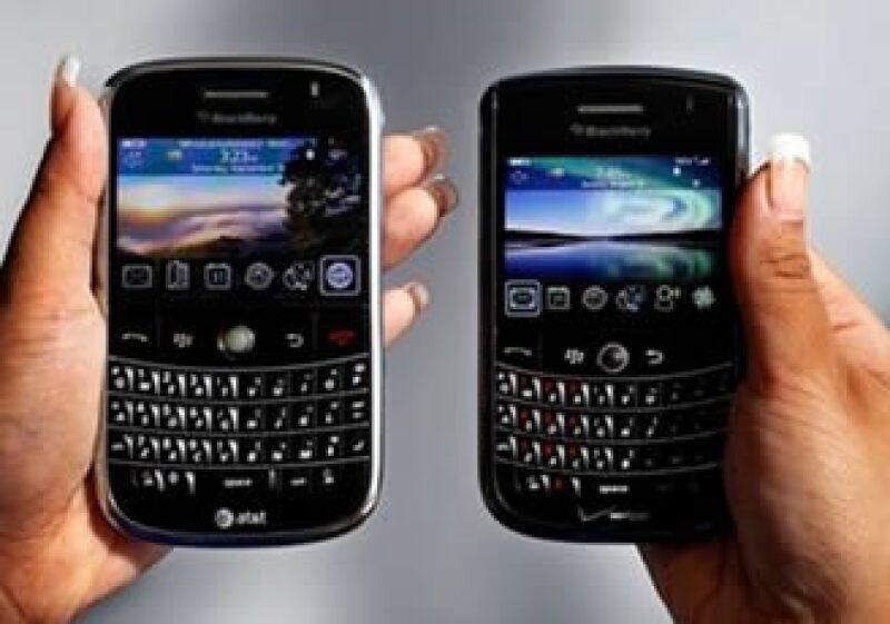La BlackBerry enfrenta una mayor competencia con el iPhone y otros celulares inteligentes. (Foto: AP)