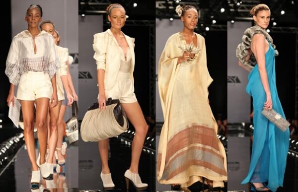 Estos son algunos de los diseños de su colección con la que logró ganar el reality.
