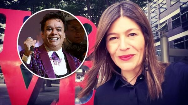Martha Figueroa y Juan Gabriel