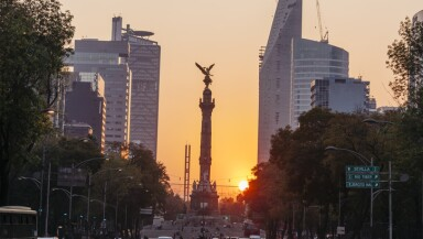 Independence Angel, Mexico City