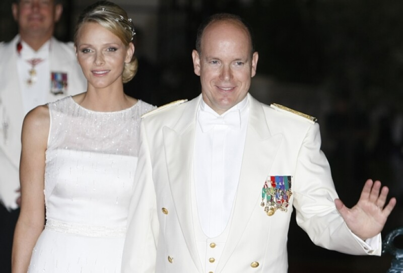 Alberto y Charlene se casaron en julio de 2011.