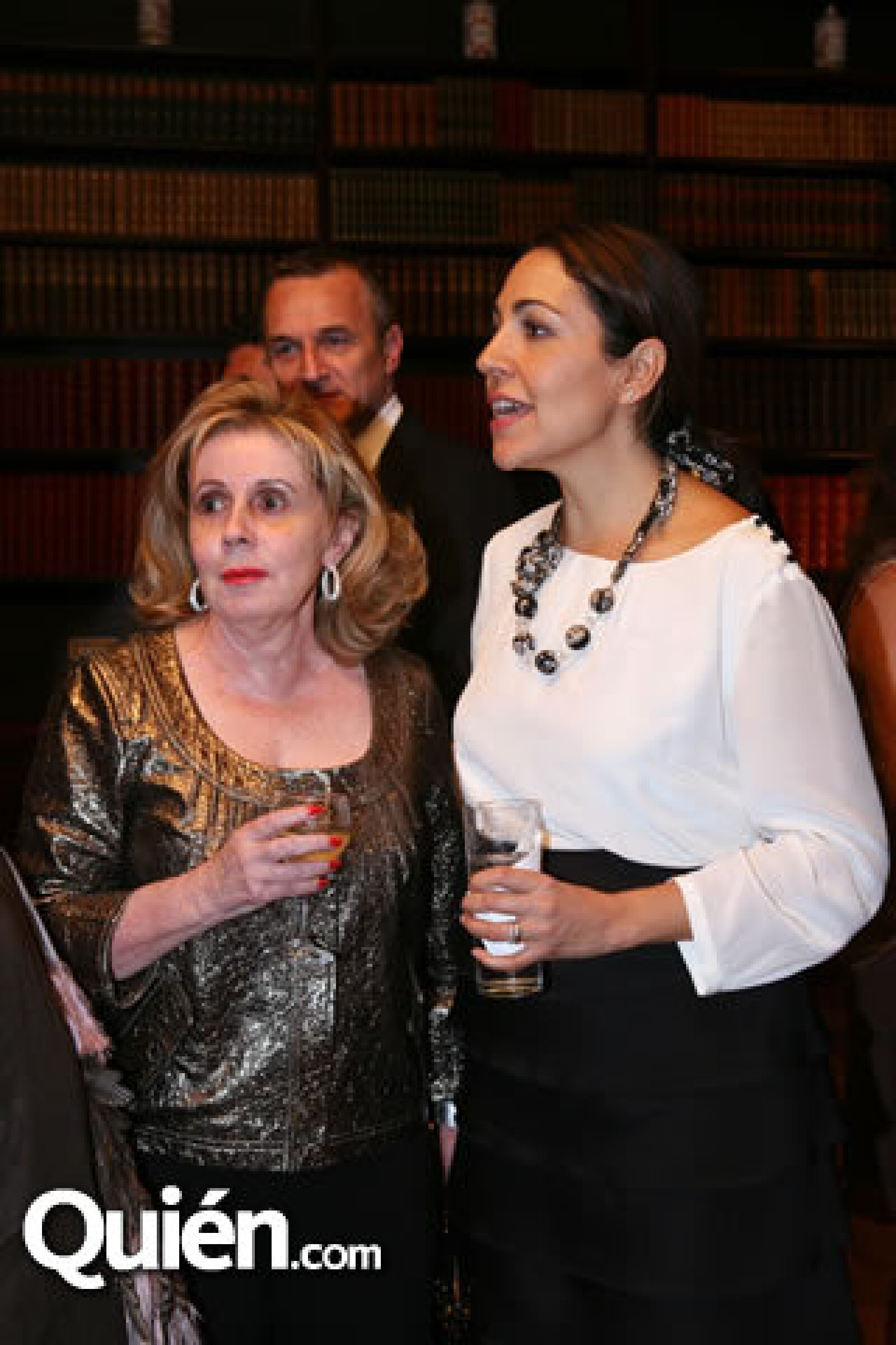 Doris Beckmann y Cristina Pineda