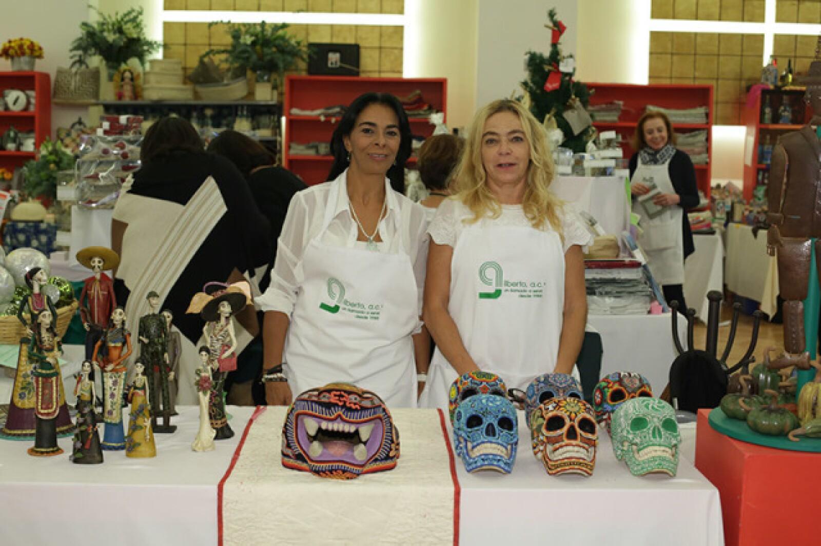 Lorena Bucio y Laura Rodríguez
