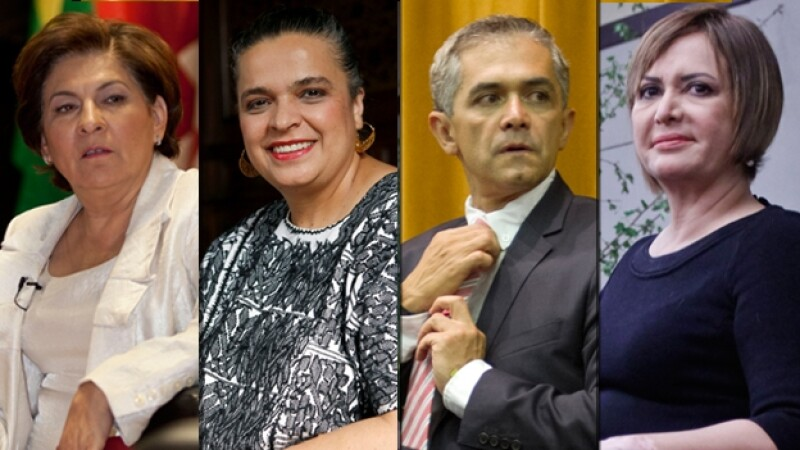candidatos al gdf ciudad de mexico