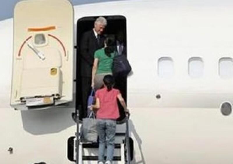 Bill Clinton hizo una visita relámpago a Corea del Norte. (Foto: Reuters)