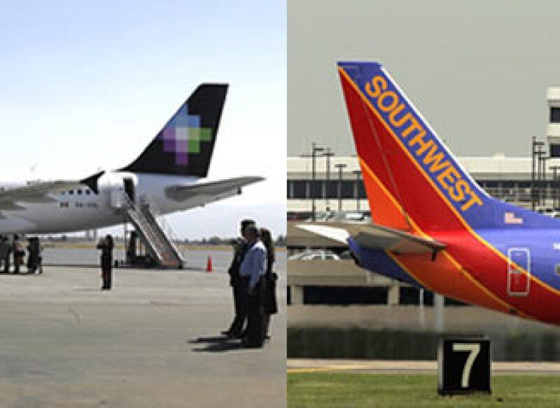 Southwest informó que conforme Volaris crezca en México, se abrirán otros destinos de código compartido. (Foto: Especial)