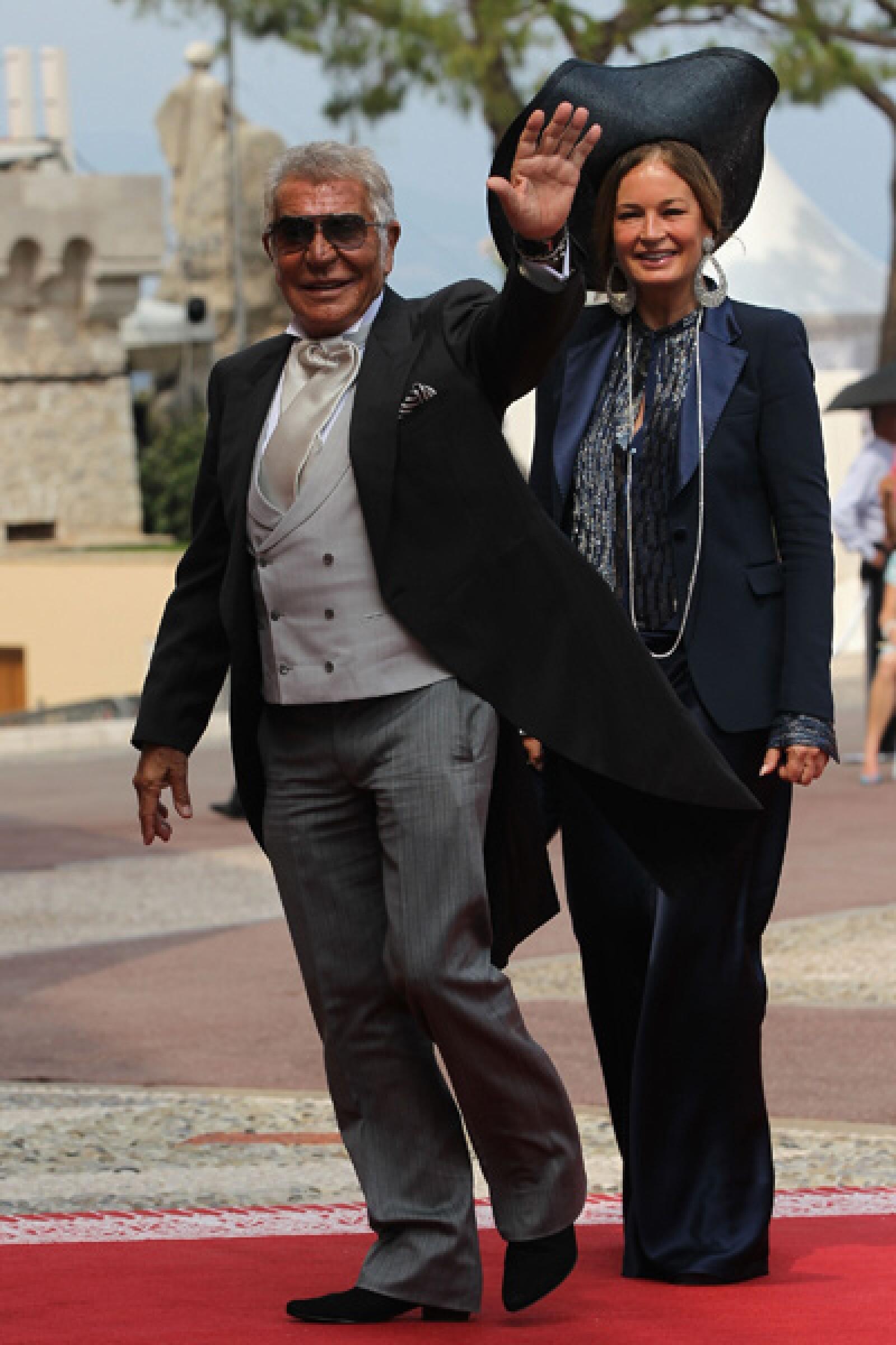 Roberto y Eva Cavalli.