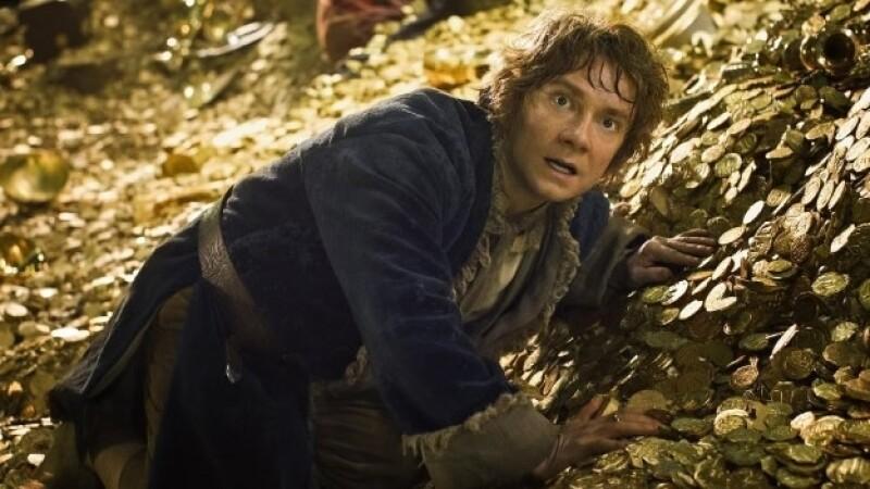 Martin Freeman y su interpretación en la última película de la saga del ?Hobbit? encabezaron las taquillas de EU y Canadá el fin de semana