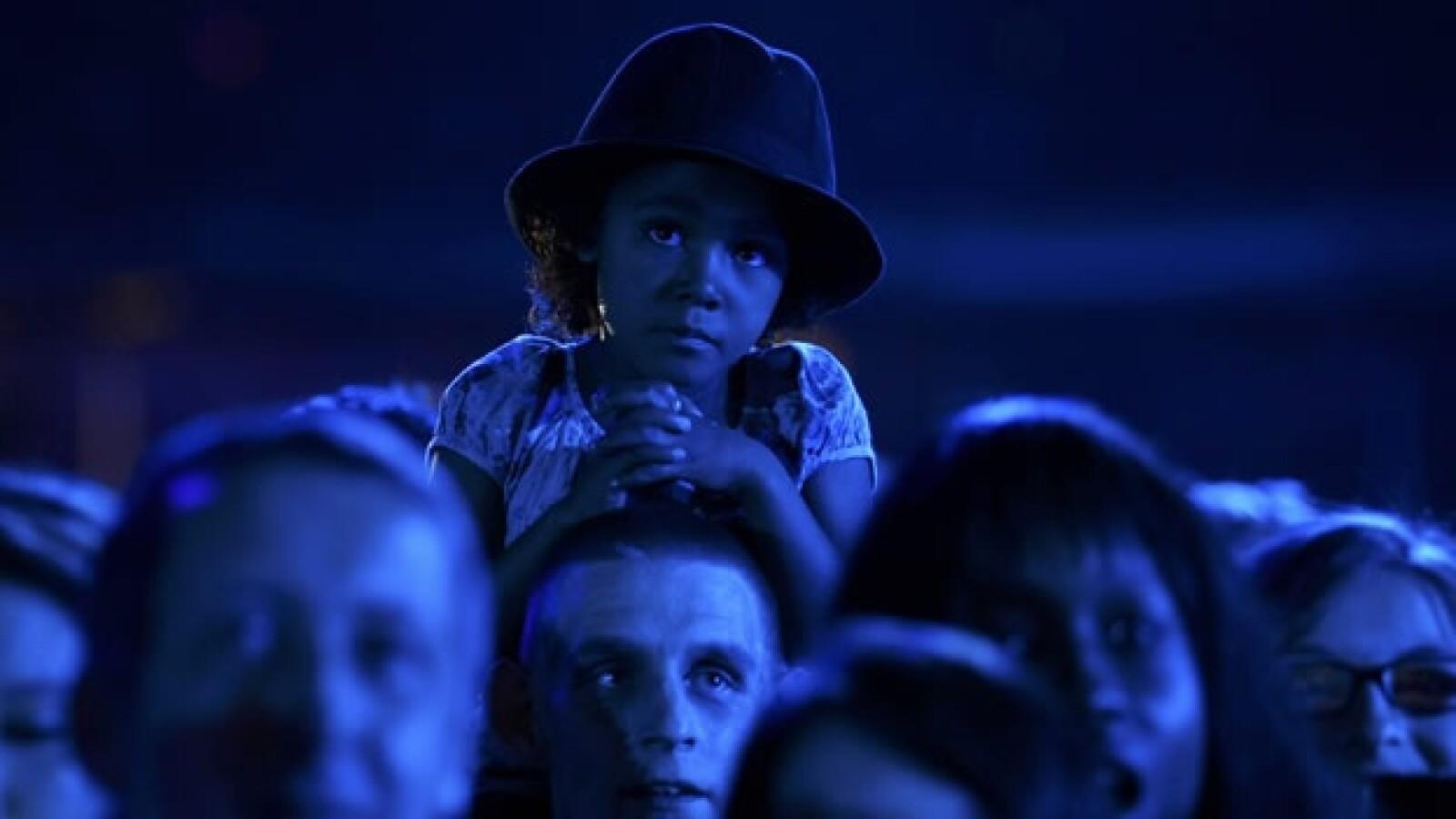 Michael Jackson Concierto Gales Hijos Fan