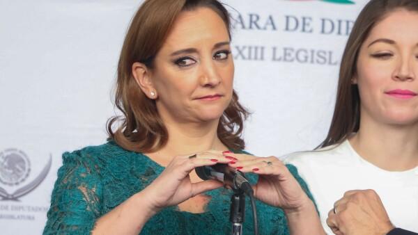 """Ruiz Massieu aseguró que el gobierno mexicano enfrenta """"retos"""" en la materia, pero ya trabajar por corregirlos."""