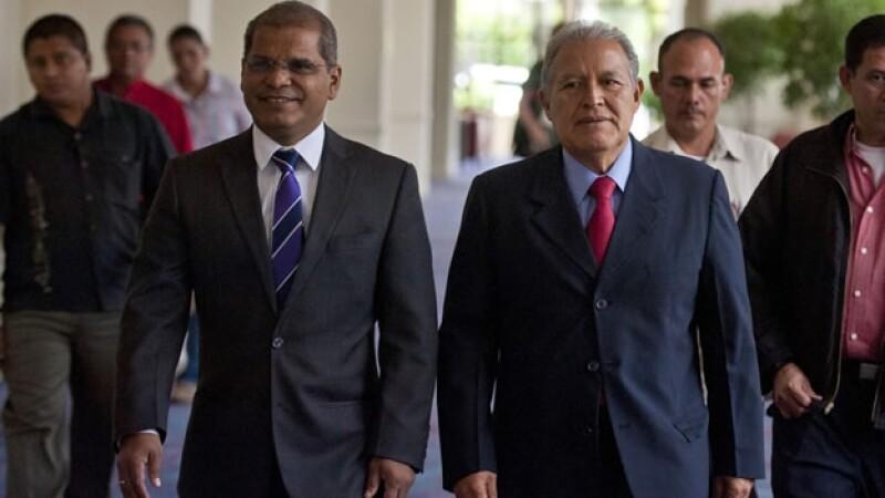 Salvador Sánchez Cerén candidato oficialista El Salvador