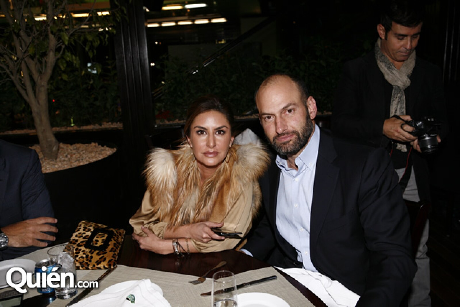 Alejandra y Nicolás Saad