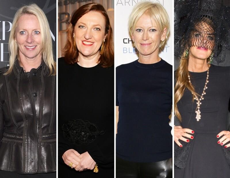 Los fanáticos de las revistas de moda pueden agradecer a estas poderosas mujeres el tener en sus manos especiales enteros de fetiches, spreads y coloridas pasarelas.