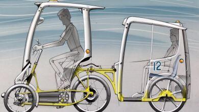 Prototipo de bicitaxi eléctrico