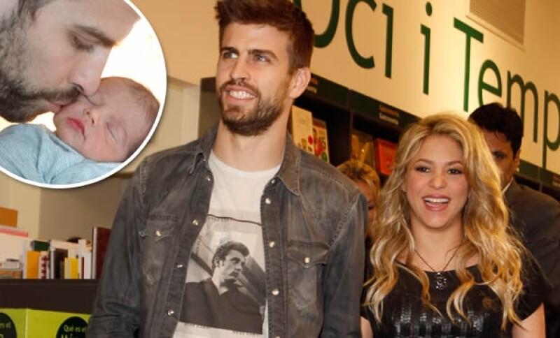El futbolista concedió una entrevista al diario El País donde aseguró que él y Shakira son una pareja normal, además está muy orgulloso de su pequeño primogénito.