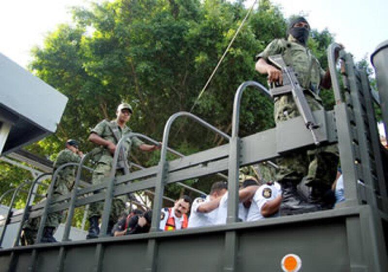 En este mes el ejército mexicano ha sido señalado por organismos internacionales por presuntas violaciones a los derechos humanos en el marco de los operativos antinarco. (Foto: Notimex)