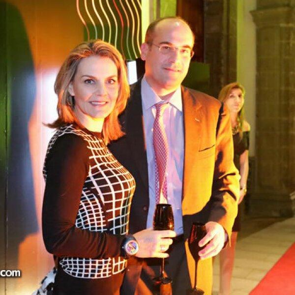 Sandra Macouzet y Francisco Suárez
