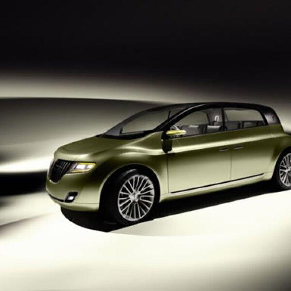 Esta versión conceptual de Ford combina las comodidades de su marca de lujo con las ventajas de economía de combustible de un auto pequeño.