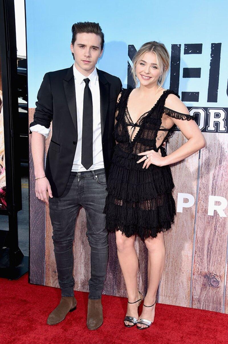 """La joven pareja acudió junta este lunes al estreno de """"Neighbors 2: Sorority Rising"""", la nueva película de la actriz."""