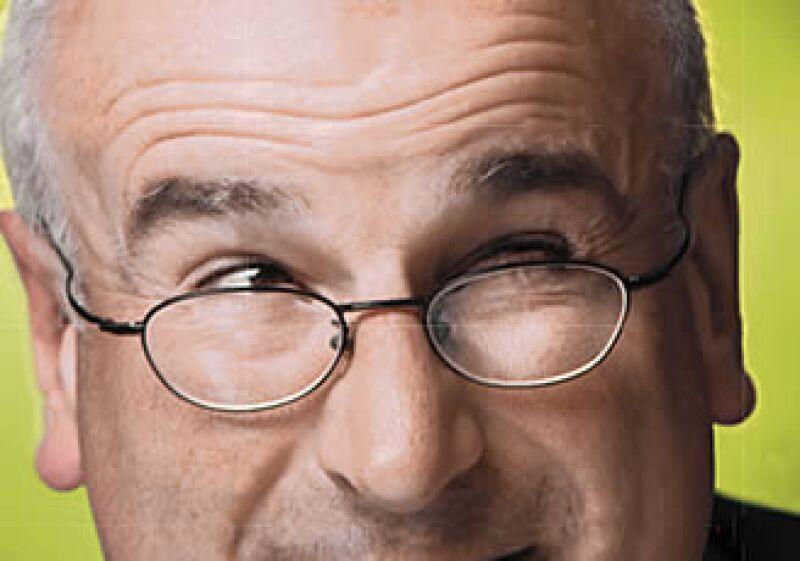 """""""Cuando la gente habla de asesores financieros se dice que son sinvergüenzas, pero cuando hablan de su asesor, ése sí es bueno"""": Bob Head. (Foto: Adán Gutiérrez)"""