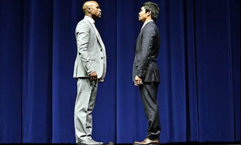 Se espera que esta pelea sea el evento deportivo más visto en la historia. (Foto: Getty Images )