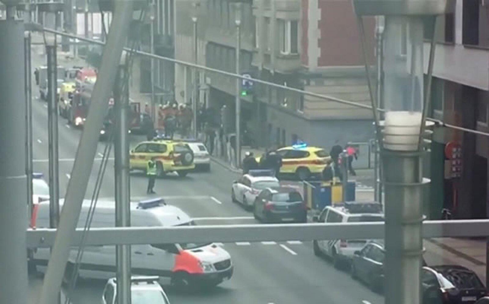 La mañana de este martes hubo varias explosiones en el aeropuerto de Zaventem y en la estación de Metro de Maelbeek, en Bruselas, Bélgica.