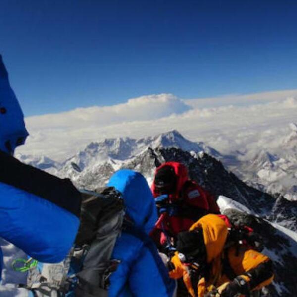 Monte Everest, en el lado de Nepal