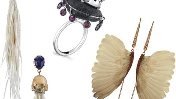 Los colores azul cobalto, verde, vino, blanco y dorado en los accesorios harán resaltar los outfits en esta temporada, como los que propone la diseñadora mexicana.