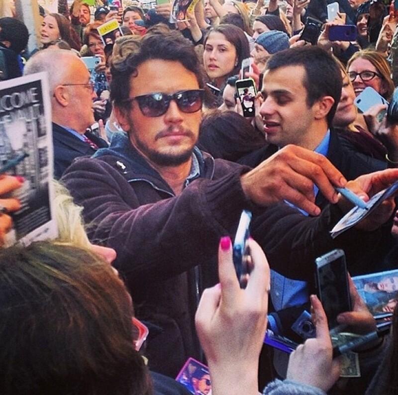 Se desconoce cómo se tuvo acceso a la supuesta conversación entre el cotizado actor y su fan.