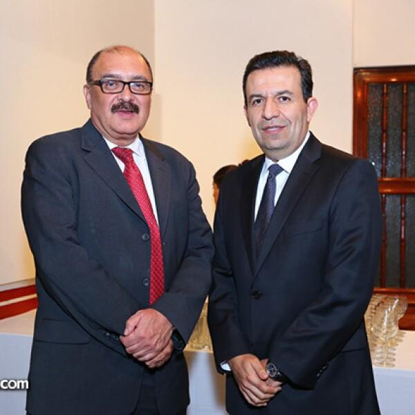 Carlos Madrid y Javier Beltrán