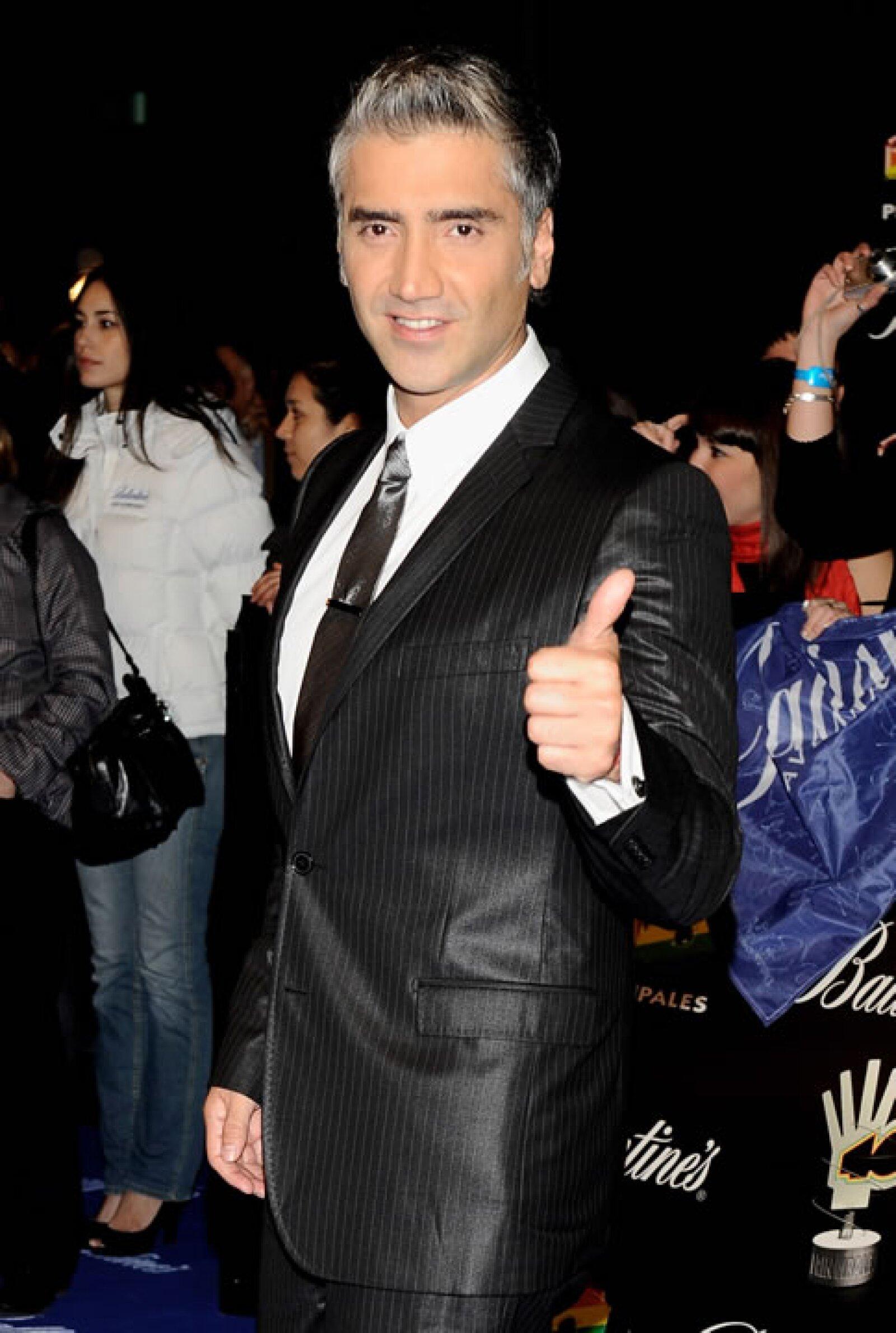 En 2009 en la entrega de los Premios 40 Principales.