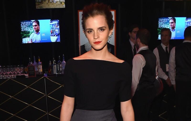 ¿Te imaginas ir a la misma escuela que Emma?