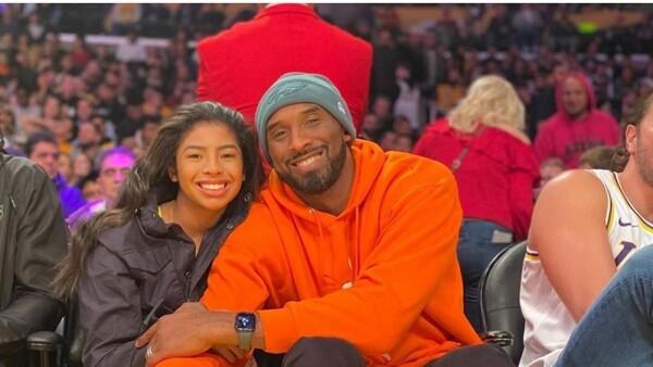 Gigi y Kobe Bryant