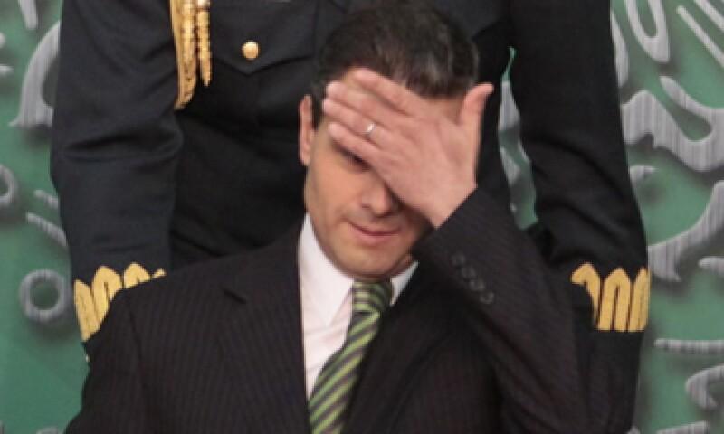 La recesión ha complicado el escenario para el Gobierno de Enrique Peña Nieto. (Foto: Cuartoscuro)