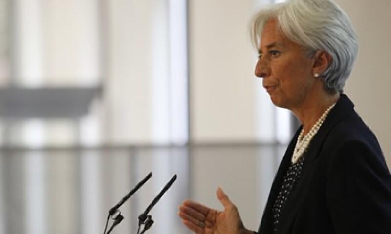 La directora gerente del Fondo Monetario Internacional (FMI), Christine Lagarde, que los líderes políticos en Grecia tienen que mostrar la voluntad de permanecer en la zona euro. (Foto: Reuters)