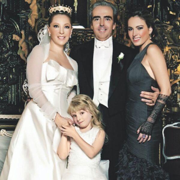 Edith González, Lorenzo Lazo y Constanza Creel