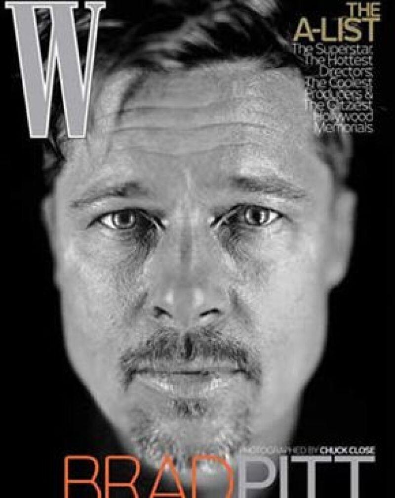 El actor se negó a que le hicieran retoques en Photoshop para la portada de una revista, por lo que a sus 45 años, luce orgulloso de todas sus marcas de expresión.